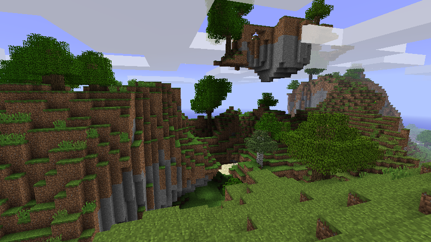 Fly The New Minecraft Map Is Now Live Something Odd
